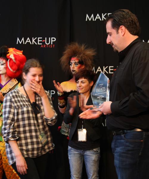 IMATS NYC Beauty 2012 - Remise de prix