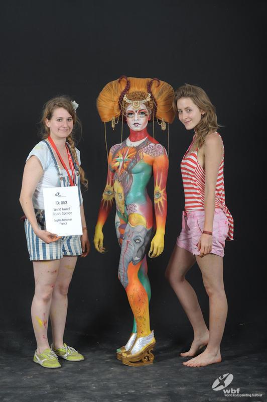 World Festival Body Painting Brushes Juillet 2013